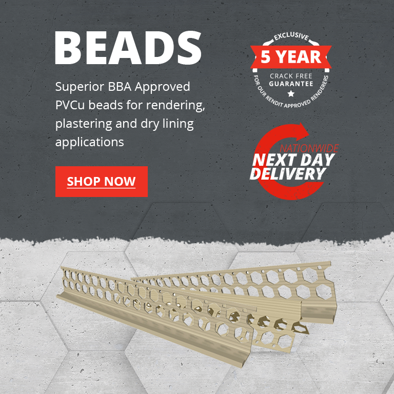 Superior BBA Approved PVSu Beads for Rendering, Plastering and Dry Linining Applications available at Rendit