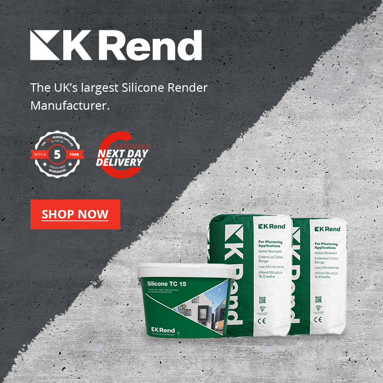 UK's Largest Silicone Render Manufacture KREND available at Rendit