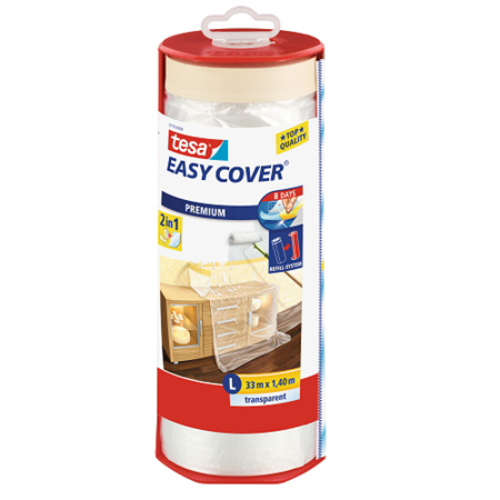 Picture of Tesa EasyCover Drop Sheet With Dispenser 1400mm