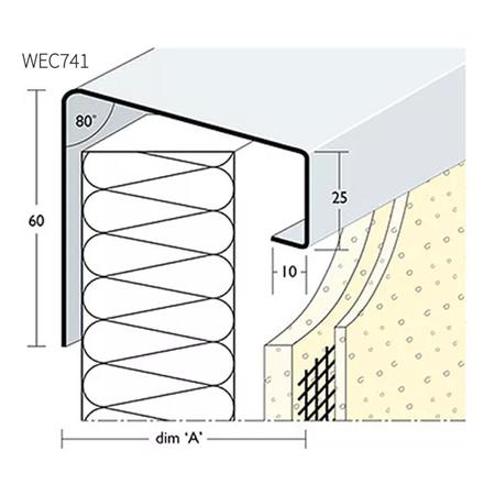 Picture of Wemico 130mm Verge Trim 2.5m