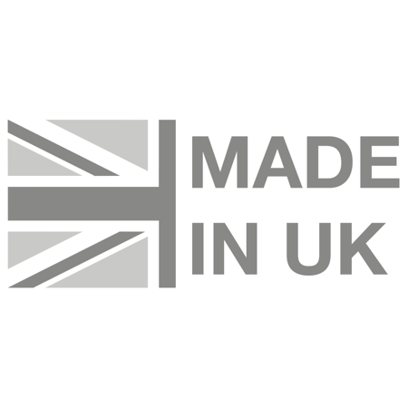 Made in the UK logo.