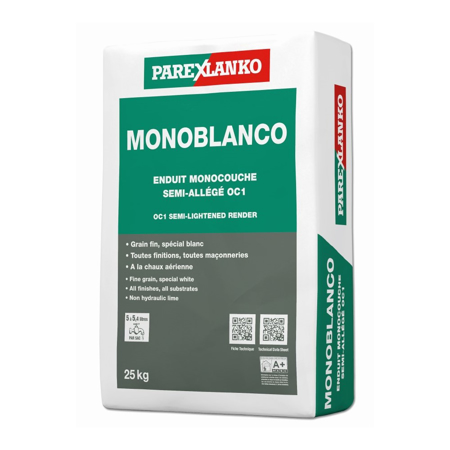 Picture of Parex Monoblanco 25kg (New Bag Size)