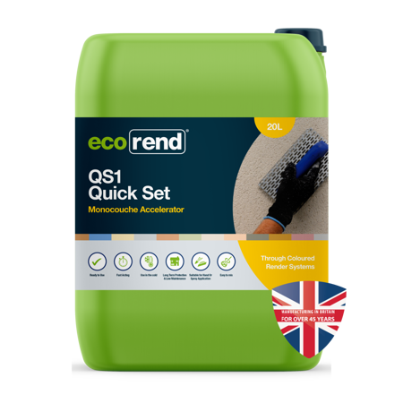 Picture of Ecorend QS1 Quick Set Accelerator 20L