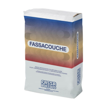 The Fassa Bortolo Fassacouche product, a semi-lightweight through coloured render.