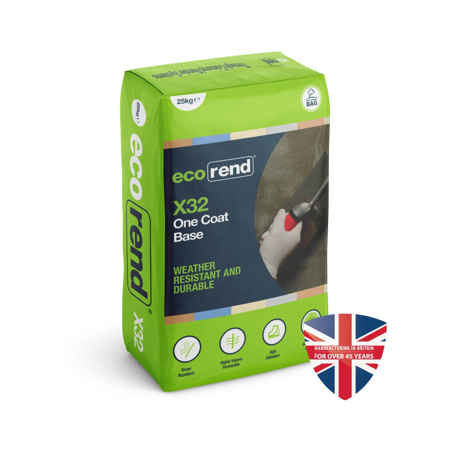 Picture of Ecorend X32 One Coat Base 25kg