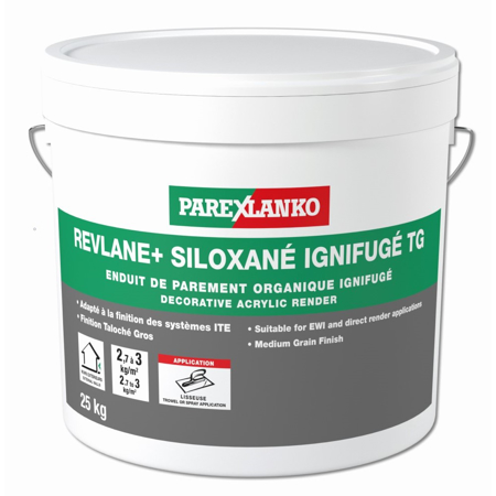 Picture of Parex Revlane Siloxane Taloche Gros: 1.5mm 25kg