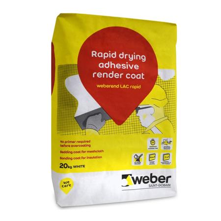 Weber Weberend LAC Rapid 20kg Bag