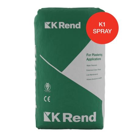 K Rend K1 Spray 25kg Bag