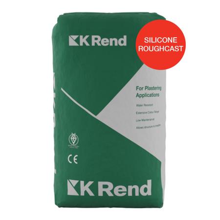 K Rend Silicone Roughcast (Wet Dash) 25kg Bag