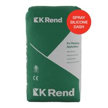 K Rend Spray Silicone Dash Receiver 25kg Bag